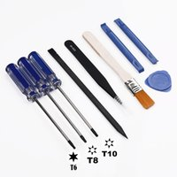 Wholesale repair playstation resale online - Repair Opening Tools Screwdriver Kit Precision Disassembling ToolFor PS4 Sony Playstation Slim Pro Xbox one accessories