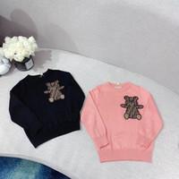 Wholesale hot girls sweaters cotton resale online - 2020 new Toddler Girls Fleece Soft Warm Sweater Hot Girls Top Clothing Children Spring Autumn Winter Wear