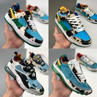 Wholesale mid skate resale online - Dunk SB Low Pro Chunky Dunky Cow Mill Skate or Die Edition Men Women Running Shoes Samba Freddy Krueger Trainers Sneakers