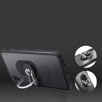Wholesale car outlet phone holder for sale – best Mobile phone holder Air outlet car integrated bracket Ring car navigation bracket new Cell Phone Mounts
