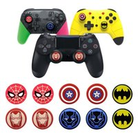 Wholesale ps4 and xbox one controller resale online - Silicone Rubber Thumb Stick Grips Joystick Caps Cover for Xbox One PS4 and Switch Pro Controller Gamepad