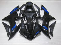 Wholesale Injection fairings for YAMAHA yzf r1 YAMAHA YZF R1 fairings kits YZF R1 ABS bodykits M1W23 BLACK