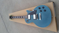Wholesale beautiful guitars resale online - in stock blue dust electric guitar rose wood fingerboard fret beautiful and cool
