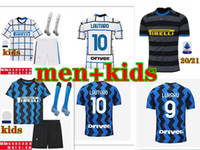 20 21 INTER soccer jerseys ALEXIS LUKAKU LAUTARO DE VRIJ 2020 2021 kids kit POLITANO SKRINIAR maillot de foot football shirt kit