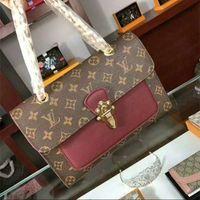 Wholesale handbags for women sale for sale - Group buy 2020 Hot Sale Fashion Vintage Handbags Women bags Design Handbags Wallets for Women Leather Chain Bag Crossbody and Shoulder Bags purse A061