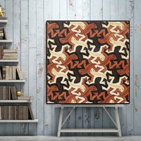 Wholesale prints artists resale online - Canvas Painting Abstract Print Lizard By Netherlands Artist M C Escher Pop Art Wall Pictures For Living Room Cuadros Home Decor