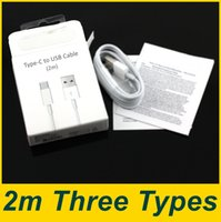 Wholesale 6ft micro usb wire charger for sale – best 2M Ft Micro and Type C USB Charging Cables Data Sync Wire Charger Line for Cell Phones