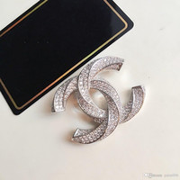 Wholesale product high resale online - New Product Brooch with Diamond Top Quality Brooch High Quality Brooch for Woman Wild Fashion Accessories Supply
