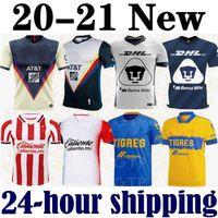 Wholesale club america jersey for sale - Group buy 20 Club America Cruz Azul Soccer Jersey Guadalajara Chivas Tijuana UNAM Tigres Monterrey third Liga MX Football Shirts Santos Laguna