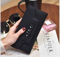 Wholesale hotsell Womens Wallets Purses LOVE letter PU Leather Long short blacKWallet Hasp Phone Bag Money Coin Pocket Card Holder Female Wallet Purse