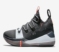 Wholesale best color basketball for sale - Group buy High Quality Mamba Mentality AD Black Multi Color Black Toe Basketball Shoes for sale With Box Best Blk Mamba AD Sport Shoes US7 US12