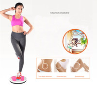 Wholesale waist twisting board for sale - Group buy In Stock Balance Board Equipment Twist Waist Plate For Exerciser Slimming Legs Magnet Wriggling Plates Fitness Equipments FY6256
