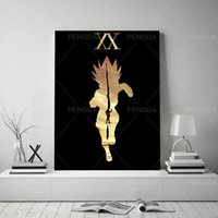 Wholesale hunters painting for sale - Group buy Wall Art Home Decor Hunter X Hunter Canvas Painting Modern Japanese Cartoon Role Picture Print Modular Poster Living Room Frame