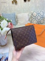 Wholesale new style handbags prices for sale - Group buy lowest price Classic new style men s women s Clutch Bags Fashion High quality designer wallet handbag briefcase Bags