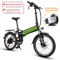 Wholesale bike battery charging resale online - 20 quot Speed V AH W Lightweight Folding Electric Bicycle Electric Bike with USB Charging Interface Lithium Battery Ebike