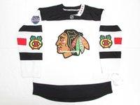 Wholesale chicago blackhawks stadium series for sale - Group buy Cheap custom CHICAGO BLACKHAWKS STADIUM SERIES PREMIER HOCKEY JERSEY stitch add any number any name Mens Hockey Jersey XS XL