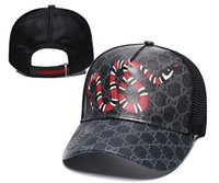 ingrosso cappelli di snapback delle donne-Gucci popular luxury designer hats caps mens summer casquette womens outdoor embroidery avant-garde Hip Hop snapback classic baseball dad caps