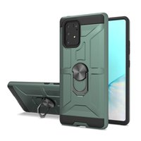 Wholesale samsung g phones online – custom Armor magnetic suction car bracket mobile phone protective shell for MOTO G Fast Samsung Note Note pro TPU PC Oppbag