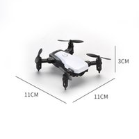 Wholesale aerial photography resale online - Mini lightweight foldable black and white drone wifi four axis aircraft remote control helicopter kids toy aerial photography headless mode7