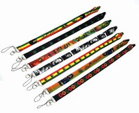 Wholesale badge charms for sale - Group buy Bob Marley Lanyard Keychain Keys ID Badge Holder Protector mobile phone charms straps