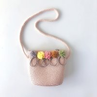 Wholesale large baby gift bags resale online - Baby Girls Gift High Quality Beautiful Shape Straw Rattan Weave Crossbody Bag For Must Wear When Going Out New
