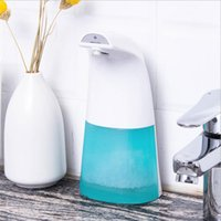 Wholesale automatic toilets resale online - Smart rechargeable infrared sensor automatic Liquid Soap Dispenser hands cleaning for hotel toilet Liquid soap dispenser FFA4242