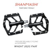 Wholesale alloy foot pedals resale online - Mountain Tiger s Foot foot mountain bike plate road bike pedal folding car aluminum alloy pedal