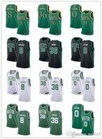 Wholesale 36 jersey resale online - Men Women Youth Boston Celtics Kemba Walker Marcus Smart Jayson Tatum Green white custom Basketball Jerseys