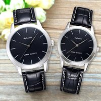 Wholesale lovers watches pair resale online - Shifenmei Fashion Couple Quartz Watch Leather Waterproof Business Casual lovers Men Women Wristwatch Pair Watches for Couples