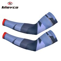 Wholesale arm warmers bike for sale - Group buy Men Women Printed Cycling Sleeves MTB Bike Bicycle UV Protection Arm warmer Graffiti funny design arm sleeve