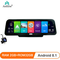 Wholesale dual gps navigation online – Anfilite quot Android ADAS G GB GB GPS navigation P dash cam camera Dual Lens car video Recorder Night Vision car dvr