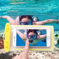 Wholesale big touch screen cell phones for sale - Group buy iKkrn Big promotion new waterproof mobile phone bag mobile phone bag universal swimming hot spring photo touch screen waterproof cover rai