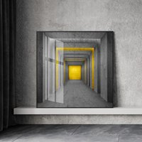 Wholesale simple modern abstract art paintings for sale - Group buy Painting Square Print Simple Style Canvas Poster Home Decor Modular Pictures Abstract Corridor Modern For Living Room Wall Art
