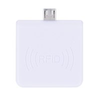 carte de proximité ic achat en gros de-Portable RFID 13,56 proximité USB Smart Card Reader IC Win8 / Android / OTG pris en charge R65C