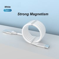Wholesale micro usb v8 magnetic charging cable online – 1M FT Strong Magnetism High Speed Magnetic Type C USB Cable to C Charging Adapter Data Line Sync Braid Android Micro V8 Cables