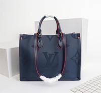 Wholesale multifunctional shoulder bag resale online - Luxury Shopping Bag Designer Classic Print Handbag Ladies New Fashion Luxury Shoulder Bag Multifunctional Large Capacity Travel Bag