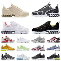 Wholesale cool mens running shoes for sale - Group buy 2020 new zoom spiridon caged fossil men women running shoes triple white Bright Cactus cool grey outdoor mens trainers sports sneakers