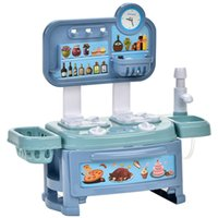 Wholesale play kitchens resale online - Children play with kitchen utensils food accessories toy simulation cooking fun detachable both boy and girl
