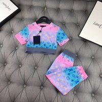Wholesale canvas clothing sale resale online - Designer set suits baby clothes baby boy clothes spring the new listing New hot Sale favourite charm OX26 FXV