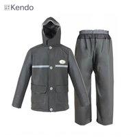 Wholesale gluing fabric resale online - Recruitment PVC sea glue knitted fabric Cloak motorcycle motorcycle suit raincoat rain pants men s adult split waterproof poncho