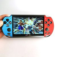 Wholesale mp5 game player support resale online - Freeshipping Portable inch Color Screen Digital MP5 Player GB Support games Over games built in