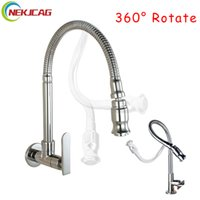 DeckWall Mounted Rotating RV Faucet