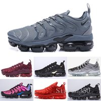 Wholesale best shoes tn for sale - Group buy Best TN Plus Running Shoes Men Women Wool Grey Game Royal Tropical Sunset Creamsicle Designer Sneakers Sport Shoes Size HIL