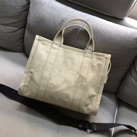 Wholesale new functional bag for sale - Group buy 2020 new women s fashion simple shoulder bag personalized high texture multi functional large capacity Canvas Shopping Bag Messenger Bag