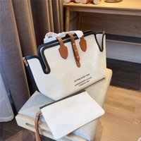 Wholesale mother tote bag for sale - Group buy hot sell Horseferry shopping crossbody bag handbag purse women canvas child mother single shoulder tote bags