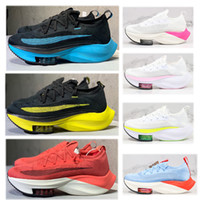 Wholesale zoom fly for sale - Group buy Hot sale fashion zoom alpha next running shoes black electric green bred tour yellow volt white orange fly men women Sneakers