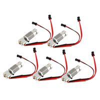 Wholesale printer nozzle for sale - Group buy 5pcs Extruder Hot End Kit mm mm Nozzle Fit for Robo R1 D Printers