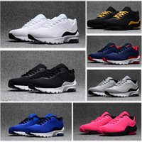 Wholesale 95 max for sale - Group buy 95 Men Running Shoes Gold Variety Rose Red Laser Fuchsia Gradient Color Maxes Gray Blue Classic Black Men Sports Shoes