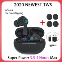 Wholesale white microphones resale online - 2020 NEWEST TWS Blutooth Wireless Headphones Mini Bass Earphone Headset Sports Earbuds With Charging Box Microphone PK Air Pro