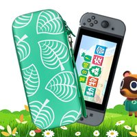Wholesale game console bag resale online - New Portable Animal Crossing Storage Bag For Nintend Switch NS Lite Case Console Carrying Travel Bag Game For Nintend Switch Accessories